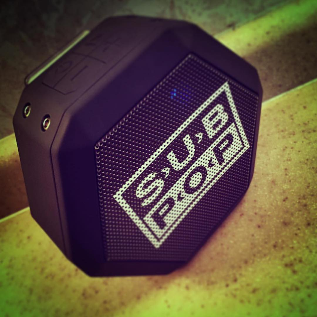 @colinhanks swooped up that @subpop #boombotrex