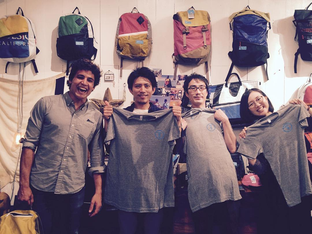 New t-shirts for our amazing team in Japan // Special delivery! #mafiateam @mafiabags_jp