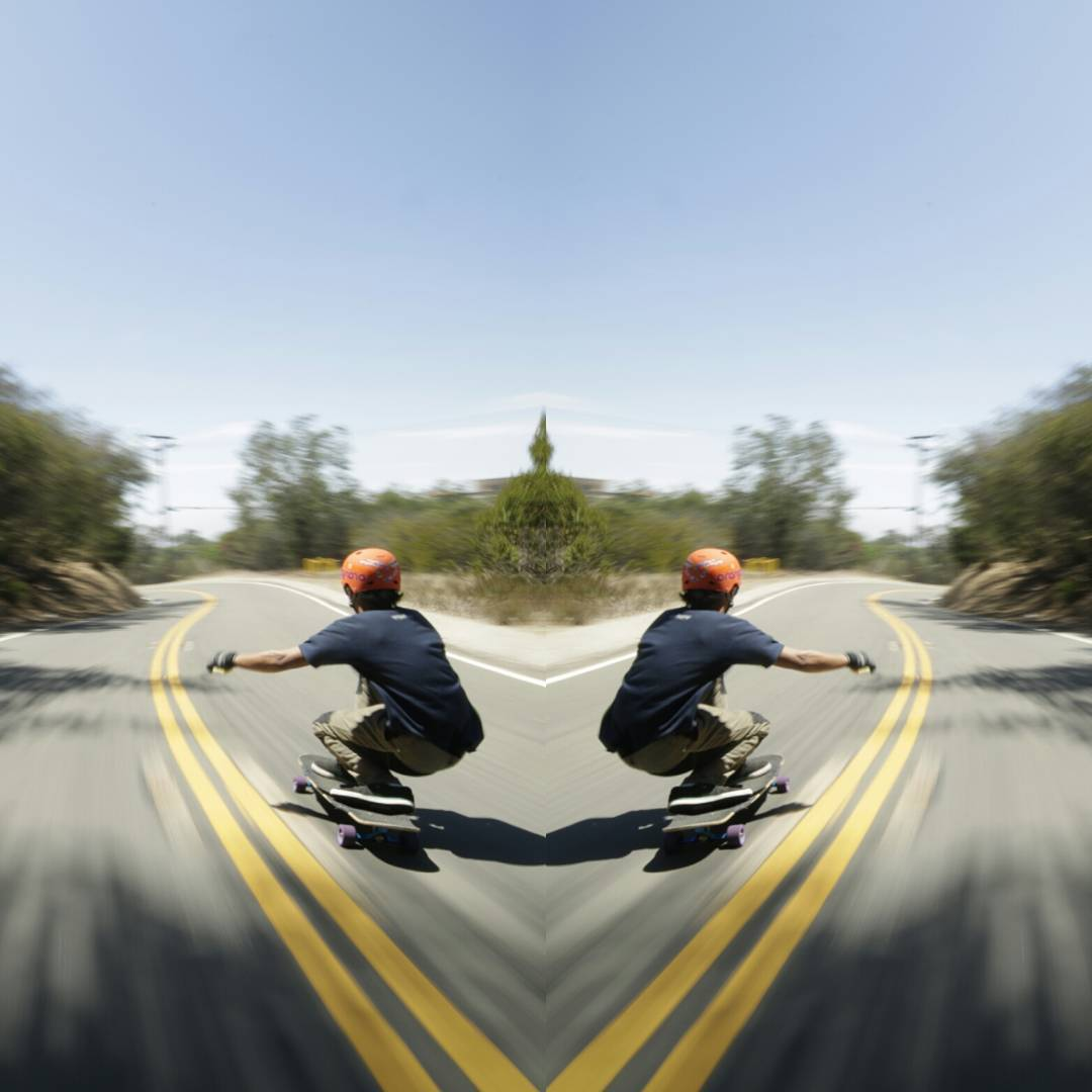 Filipino Speed Demon @dandoy_tongco can rock it goofy and regular as easy as flipping the pillow for the cool side.  We cheated and flipped the photo. But can you tell which is the real one? *Hint, this photo was taken in New Zealand.  Photo:...