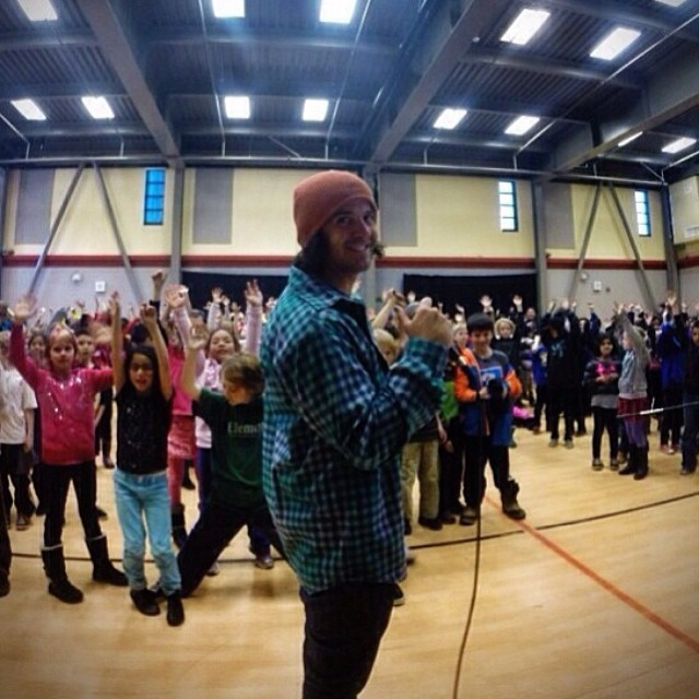 Re-gram from @dannytoumarkine | Thank you DCT for leading a great #HelmetsAreCool presentation today at Truckee Elementary! Shot with the @gopro #hero3plus on the #goproapp