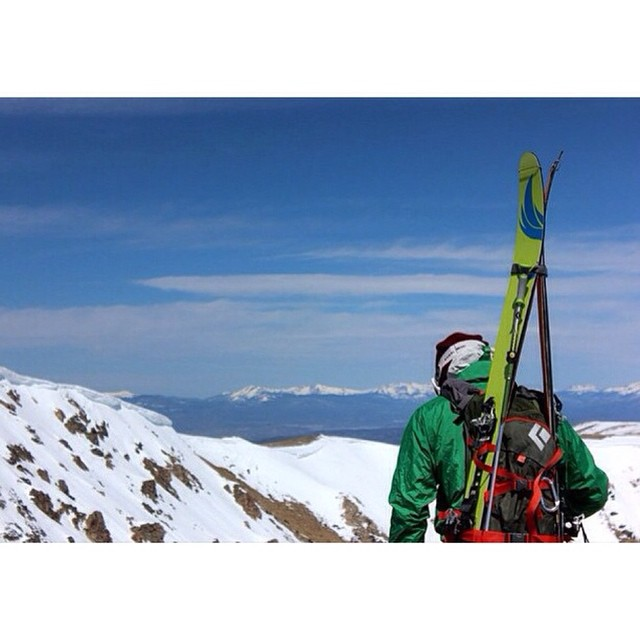 A perfect spring day #migrateskis #climbstuff #colorado #migrateskis #carbonfiber #berthoudpass #backcountry #skiing