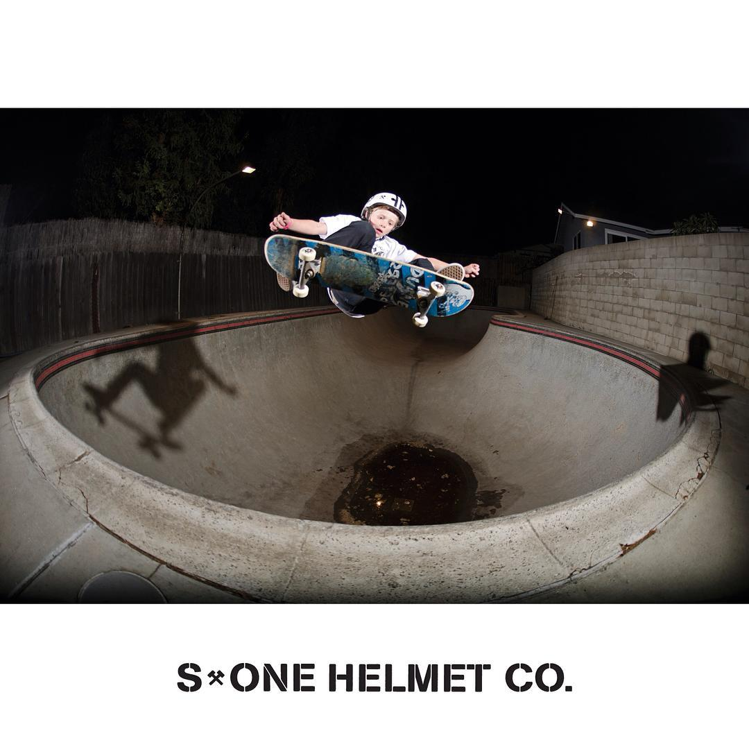 Rad photo of @cjcollinsskate from last year. #frontsideollie