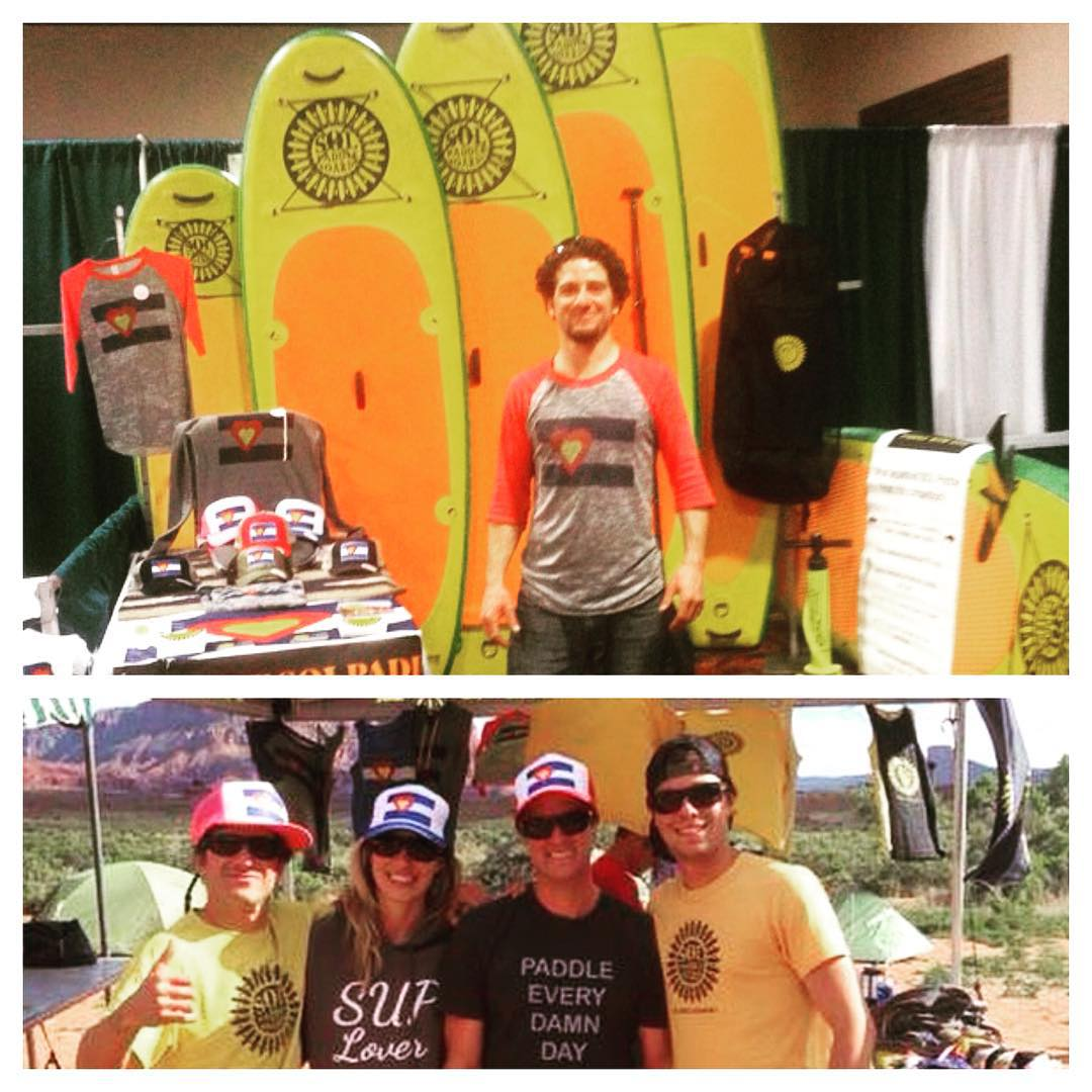 #solpaddleboards reppin #bigcoloradolove