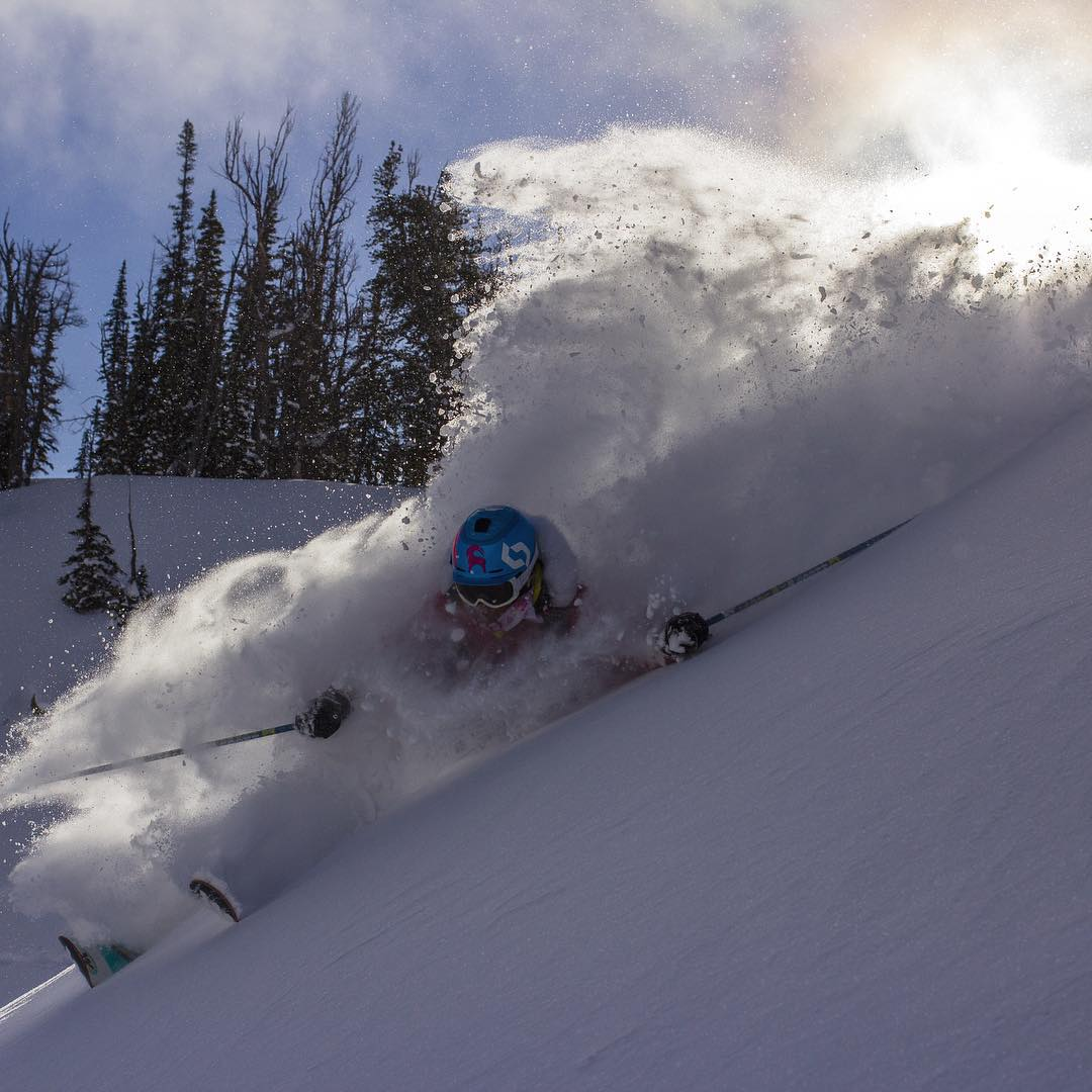 With the brisk mornings here in @sunvalley we are starting to think of days like these!! #PHGB athlete @jmcmillan getting the goods last season! #travel #jointhemovement #powder #jacksonhole