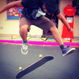 Happy September! Skate season starts soon and we are stoked! Photo by Ana Galicia.