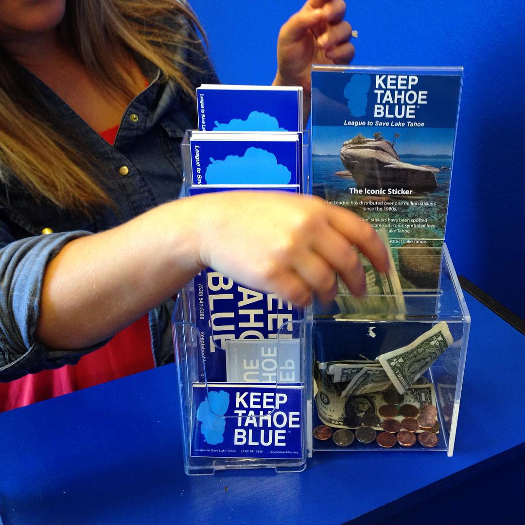 Today is the last day to cast your vote! North and South Tahoe businesses are competing this month to find out which shore can raise the most in Keep Tahoe Blue sticker donations. Visit one of our sticker businesses today to donate. You can also enter...