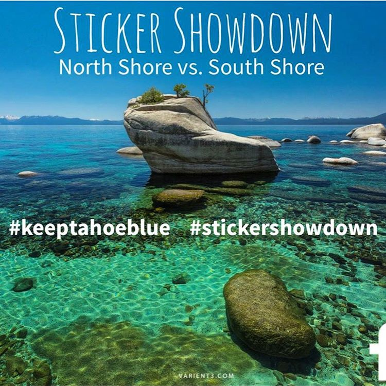 North and South Tahoe businesses are competing this month to find out which shore can raise the most in Keep Tahoe Blue sticker donations. Visit one of our sticker businesses today to donate and cast your vote. Customers can also enter to win Keep...