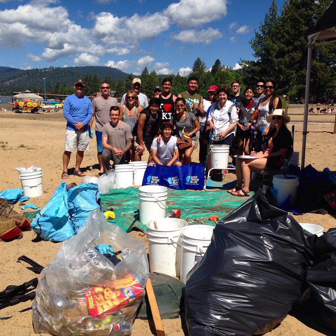 Thank you to all the volunteers, business partners, and land managers who made the 2015 Keep Tahoe Red, White and Blue Beach Cleanups a success on July 5! Over 320 volunteers came out to nine beaches and picked up 4,289 cigarette butts, 5,967 pieces of...