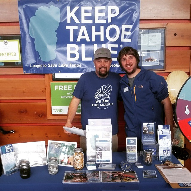 We are tabling up at Tamarack Lodge. It's a beautiful blue bird day with some of the best snow of the season. Come visit us to spin our prize wheel or get a sticker!
