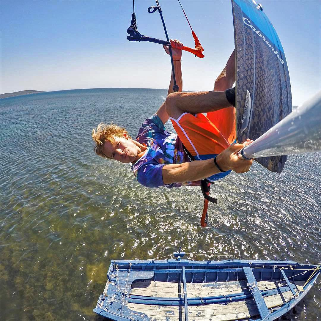 Boat trip. Photo: @jamesboulding GoPro HERO4 | GoPole Reach #gopro #hero4 #gopolereach #kiteboarding