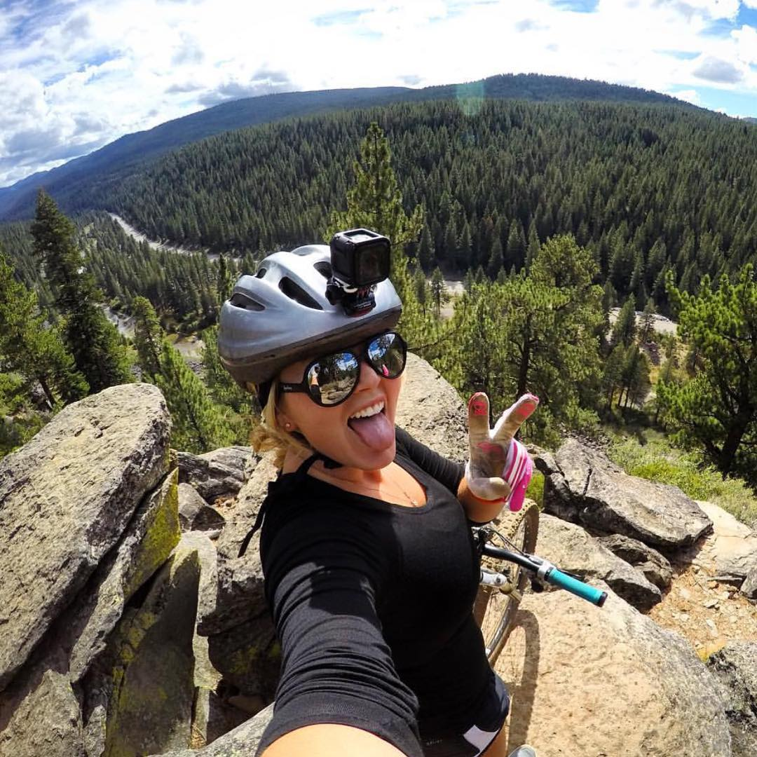 Mountain biking with the new Hero 4 Session Frames: Maverick Kameleonz.com