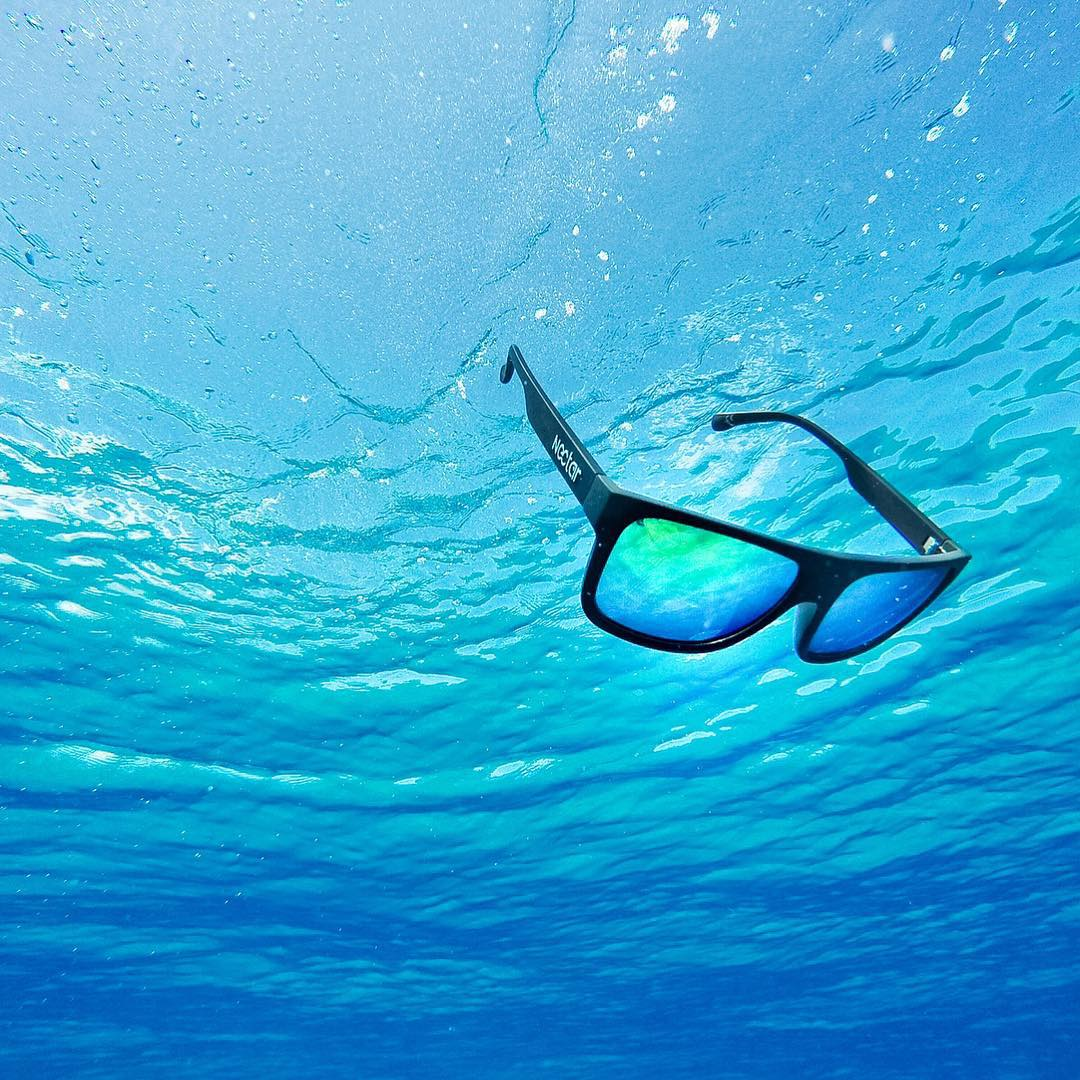 Our sunnies float... To the bottom. Swim in clear water to find them easier! || #sinkorswim #nectarlife #summer #nectarshades photo @ericsterman