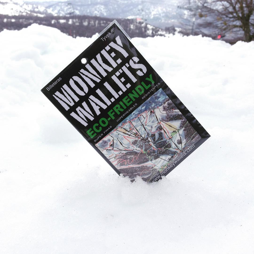 #monkeywallets #nieve #invierno #chapelco #cerro Chapelco #ski #snow @monkeywallets