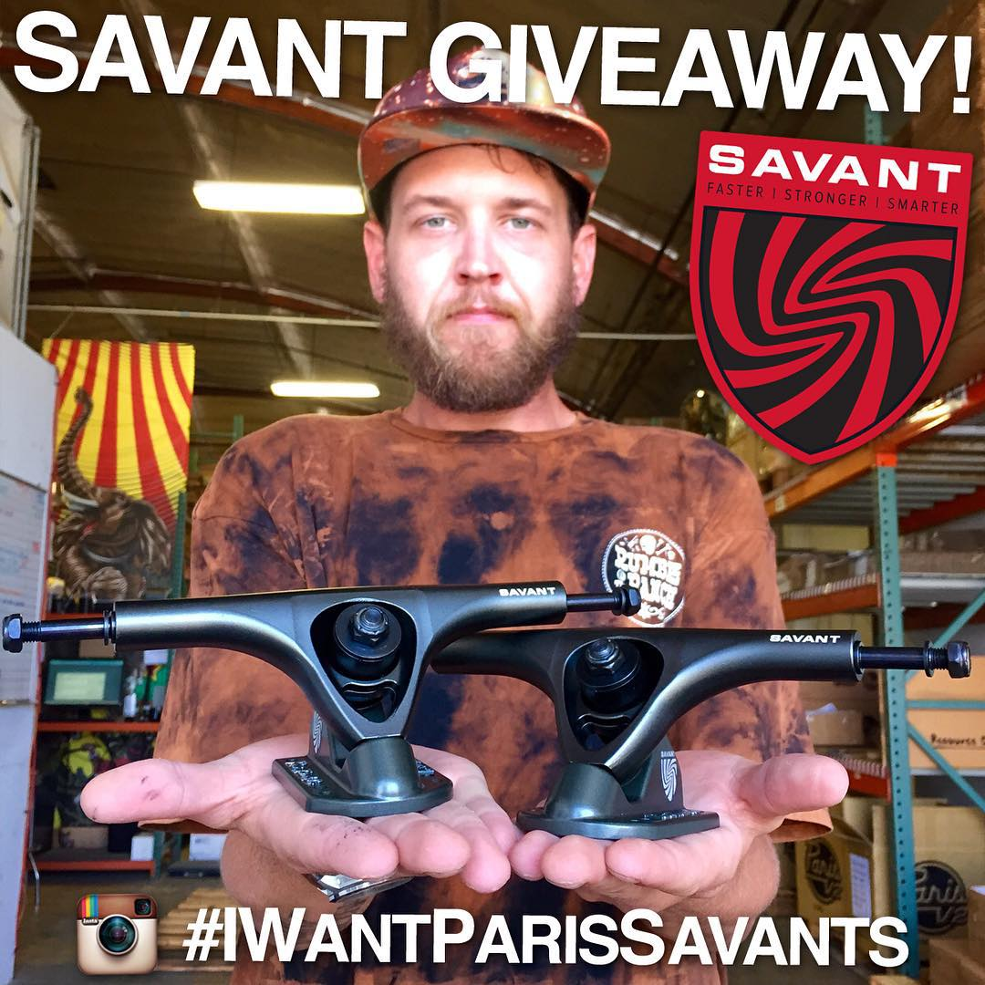 Friends, don't forget about the Savant giveaway we're running RIGHT NOW! @dubeseldorf wants to hook up a lucky rider with a set of #ParisSavants! For your chance to win, all you have to do is: 1. Make sure you're already following our account...