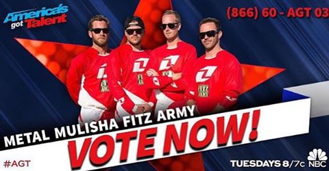Vote now for my boys on @nbcagt by calling the number above