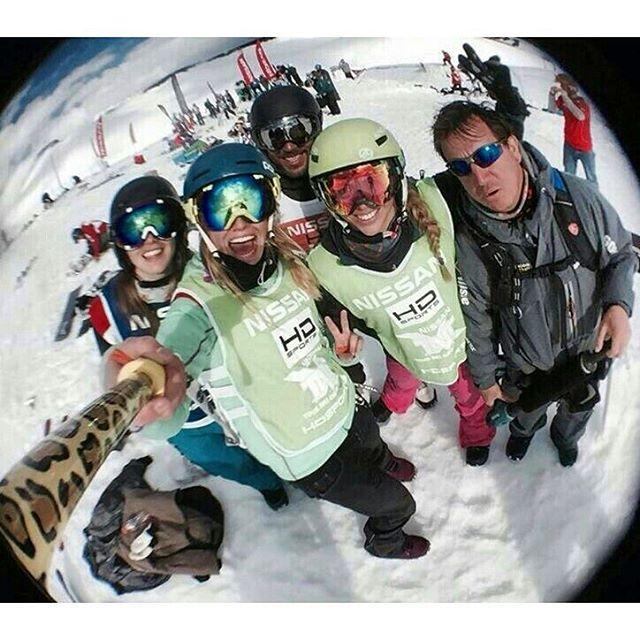 @maca.valle en el Nissan TNT Freestyle Tour! Felicitaciones por el 2do Puesto en el FIS SouthAmerican Cup!