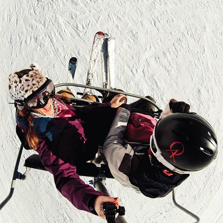 Fin de temporada, se está yendo el invierno y hay que aprovechar las últimas bajadas! #QAxelmundo #theQAlife #lasleñas