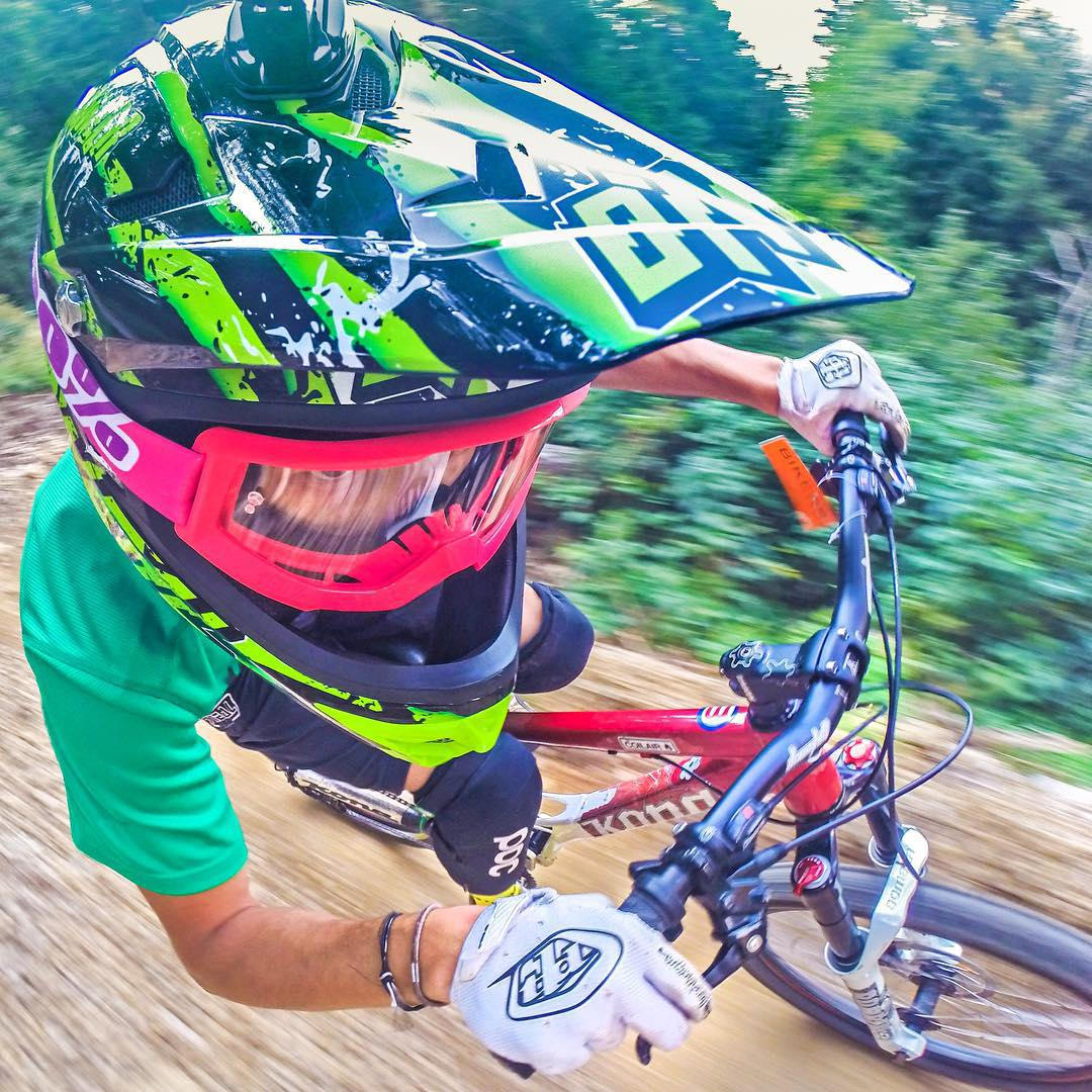 Photo: @simonearmanni GoPro HERO4 | GoPole Arm #gopro #gopole #gopolearm #downhill #mtb