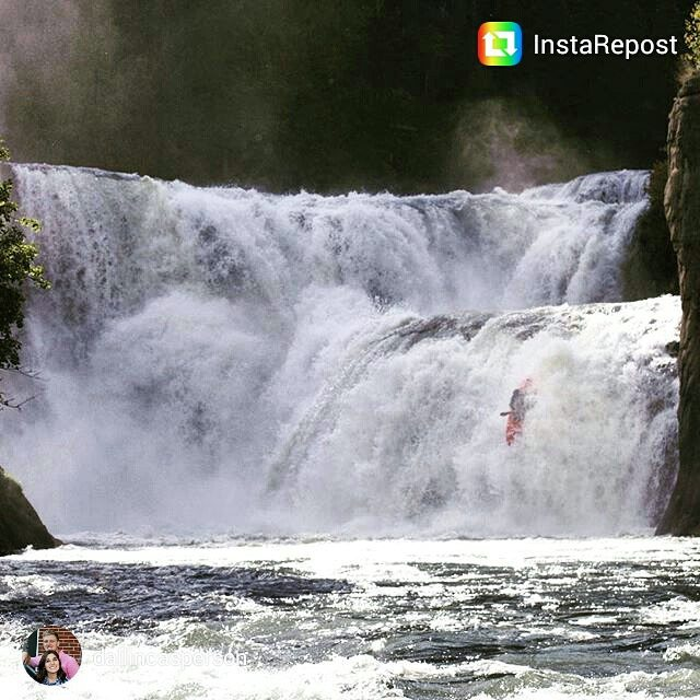 This #waterfallwednesday is brought to you by @dallincasperson at Lower Mesa Falls.  Great pic Dallin! #Ashton #ID
