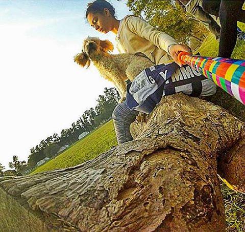 - Muy buena esta foto de @giulianagalarza con su @alt.3d con el modelo #rainbow