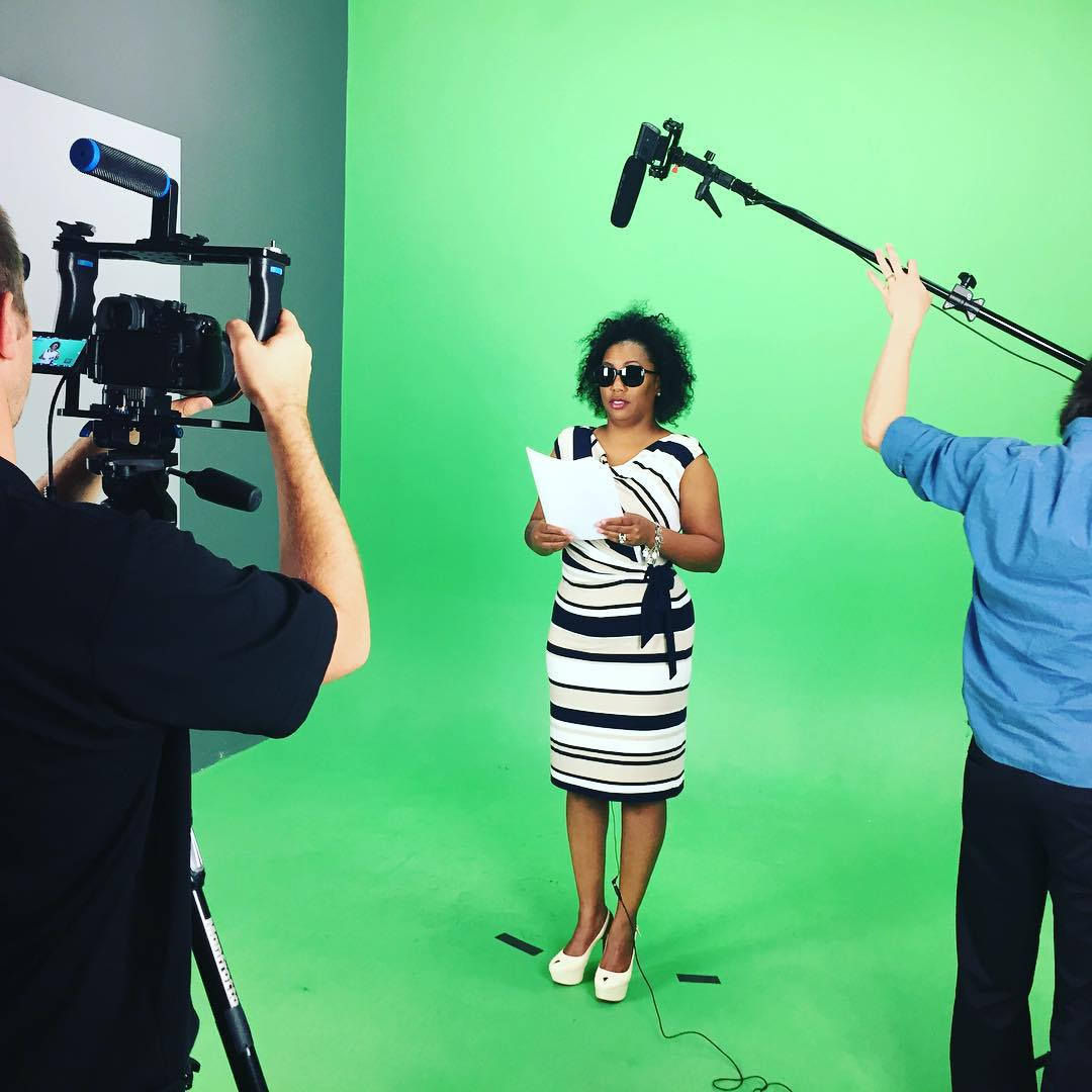 Behind the scenes look at the #waveborn production this week to #givesight @seeintl