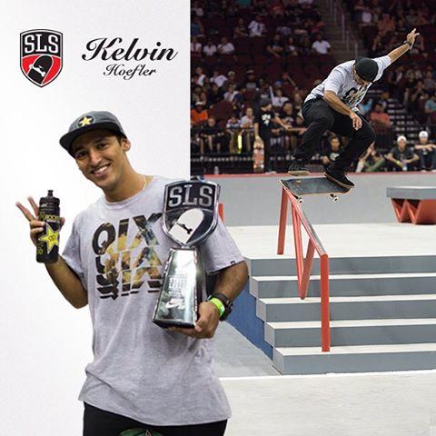 @kelvinhoefler @streetleague Pro 2015 - Rumo ao Super Crown World Championship - 04 de Outubro #qixteam #skateboardminhavida
