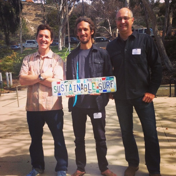 Rob Machado came to speak at our event - Future of Surfing is not Disposable - yesterday!  #deepbluelife