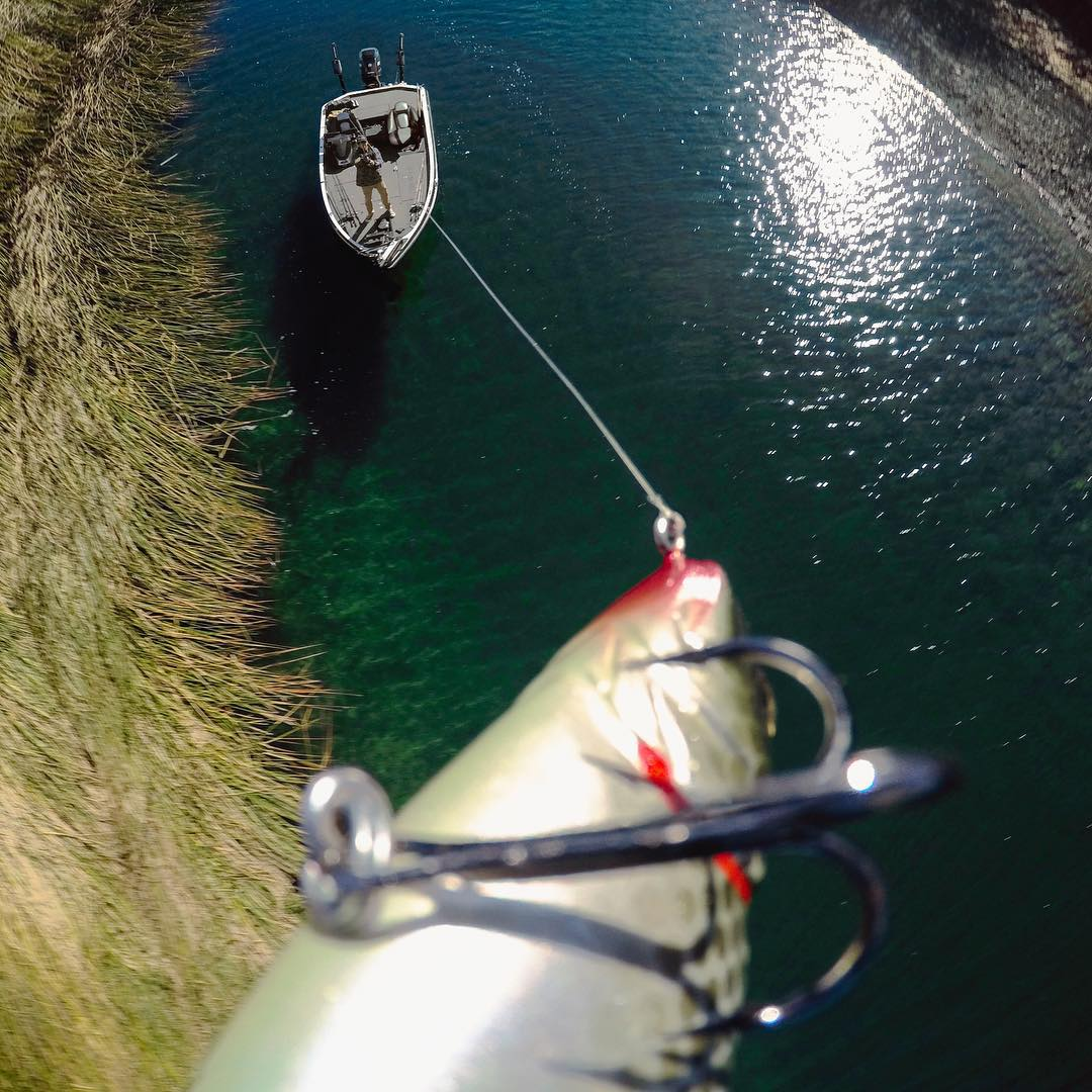 Just another day on the water with #gopro angler @brentehrlerfishing. #GoProFishing