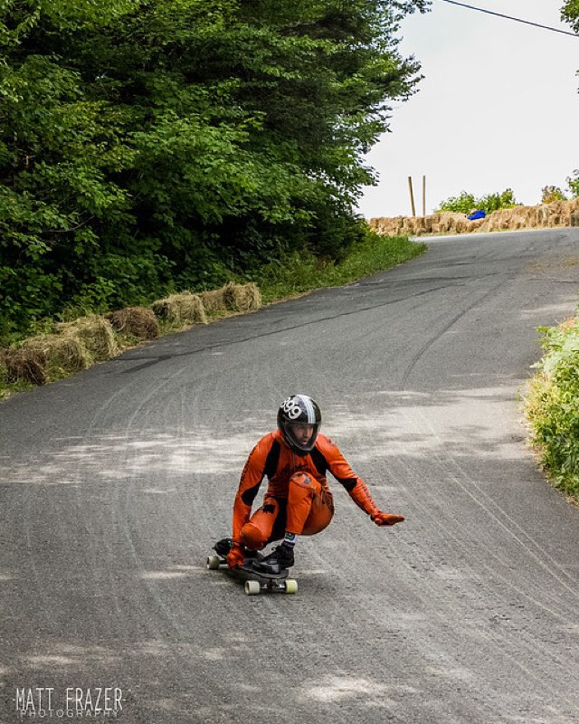 Awesome shot of @niko_dh from the #burkemountain #freeride #predatorhelmets #originalpredatordesign