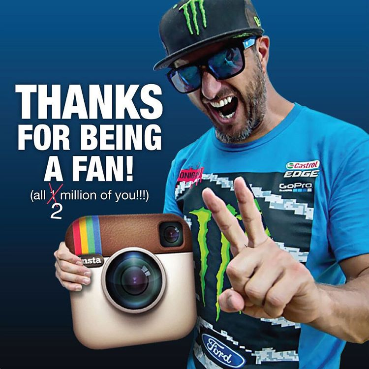 Wow - my follower count just ticked over 2 MILLION this past weekend!! A big, big THANK YOU to every one of you for following along with my global racing/sliding/jumping/riding/boating/etc adventures. I am very lucky to get to do some very awesome...