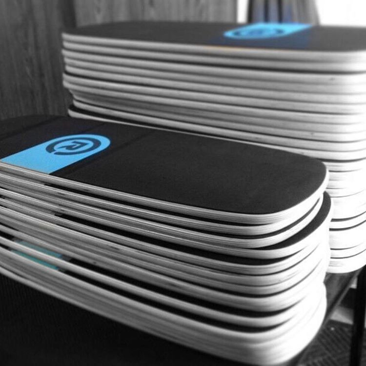 Fresh stack of our #Revbalance boards!More info on our website! (Link in bio)  #findyourbalance #balanceboards #boardsports #train #wakeskating #wakeboarding #surfing #skateboarding #windsurfing #kiteboarding #paddleboarding #sup #yoga #madeinusa...