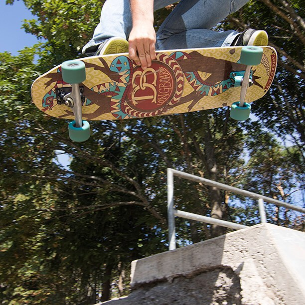 The Diamondback is an all-around board like you've never seen. The 7-ply layup makes the Diamondback lighter and more nimble than other comparable boards, while still sporting the signature solidity of DB construction. The rocker and moderate concave...