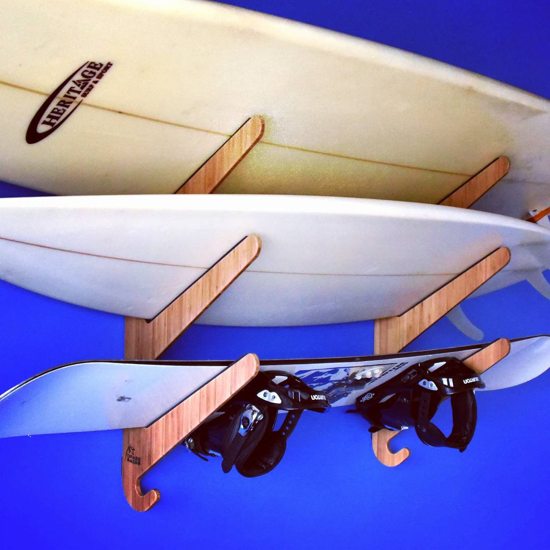 "The ""Show Us Your Rack"" Contest is underway. Click the link in our bio to find out how to enter and win a Grassracks makeover for you or a special surfer in your life. Show us your quiver, share it with the world, and win!  #surf #surfing #surfer..."