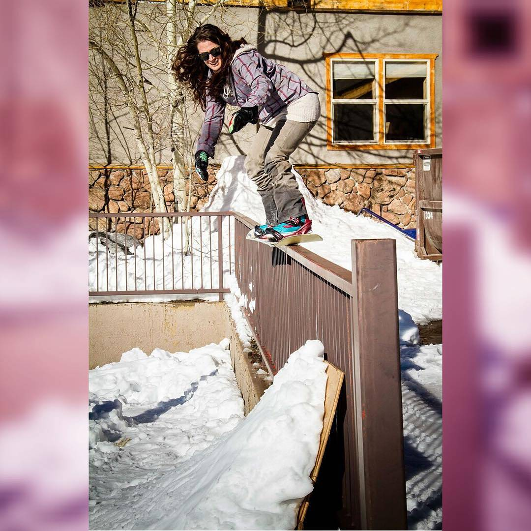 Getting that urge for winter yet? We know @FancyRutherford has it! #Regram via Fancy. Photo by @TuckerNorred #snowboarding #winteriscoming #fluxbindings #girls #girlswhoshred