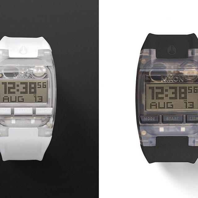 The world's thinnest active digital watch. Welcome the #Comp and #CompS. #NixonNow #LinkInProfile