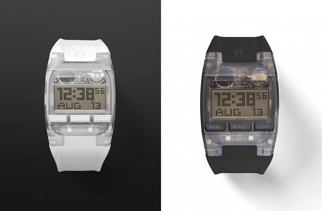 The world's thinnest active digital watch. Welcome the #Comp and #CompS. #NixonNow