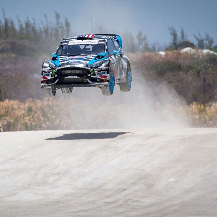 #TBT to 2014, where the #GlobalRallycross Championship kicked off in Barbados at the Bushy Park Circuit. They had this rather large jump there, which was really fun. Really stoked to be going back there this year for GRC round 10 & 11 this October....