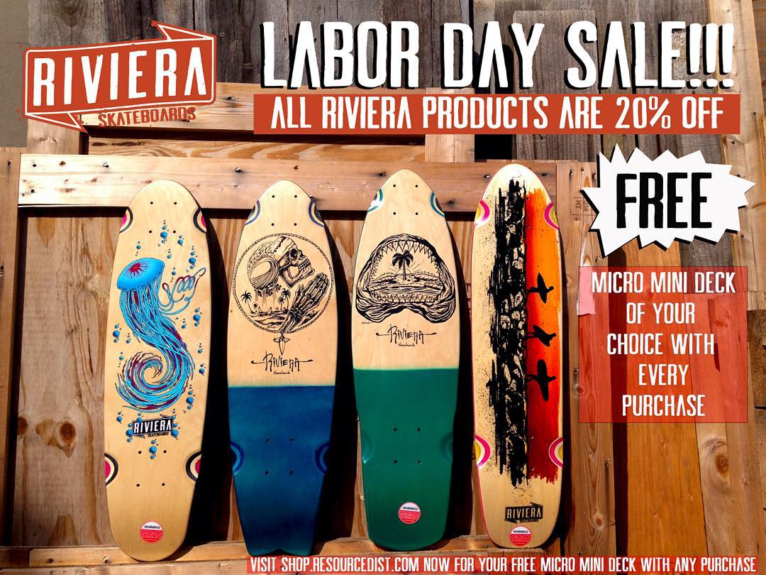 Your holiday weekend fun starts now!  FREE micro mini deck of your choice with any purchase! PLUS all of our products are 20% off - making it nearly impossible to pass this up!  Visit shop.resourcedist.com now and treat yourself to something good.  You...
