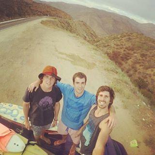 Camino a Ejido Erendira en nuestro primer encuentro con el desierto #HitTheWave #SeekTheExperience