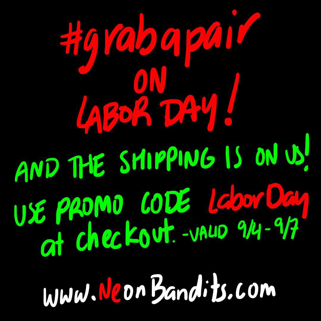 "#freeshipping on #labordayweekend with the promo code ""LaborDay."" Click the link in the bio to #grabapair!"