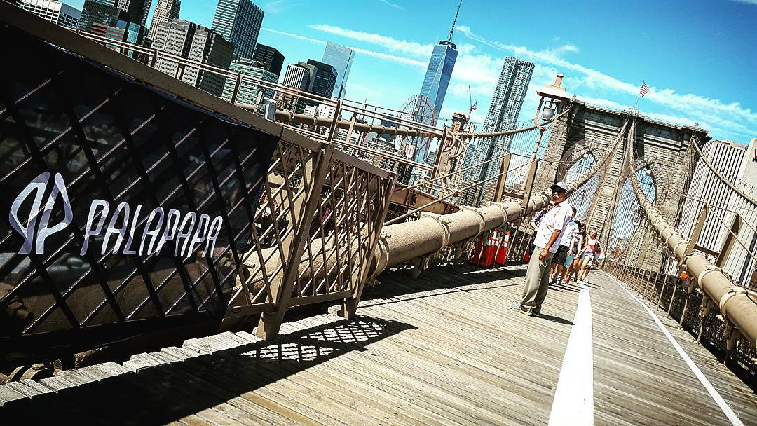 New beginning  #palapapa #brooklyn #bridge #wakeboard #kitesurf #surf #sup #bodyboard #wear #clothing #nyc