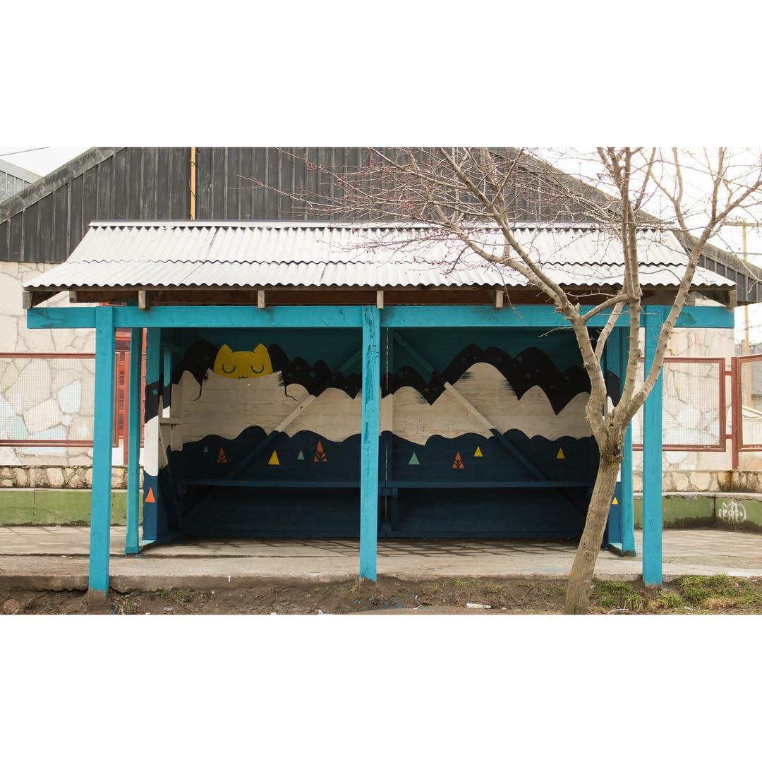 Garita - Escuela 186, Villa La Angostura