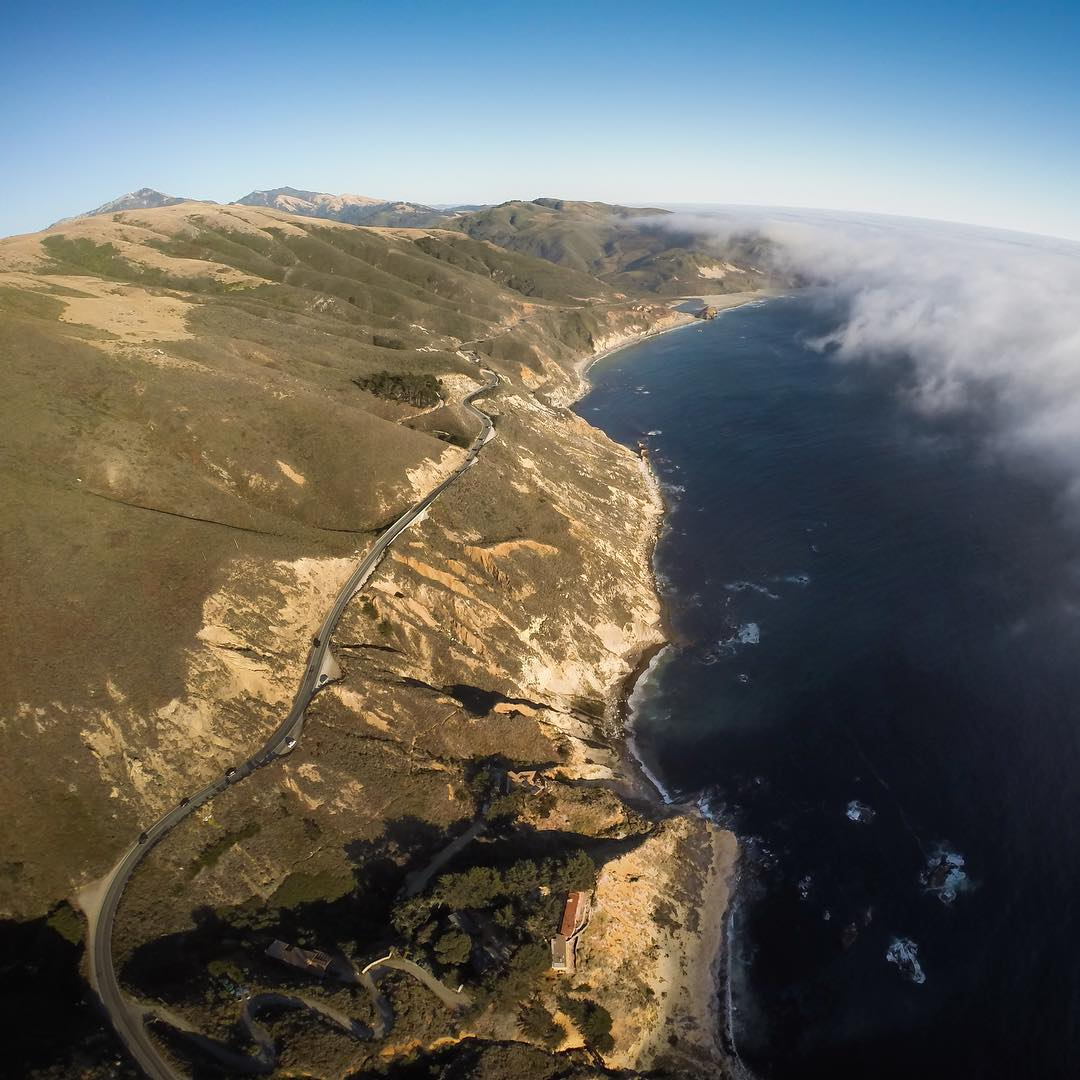 GoPro Featured Photographer - @shonbollock  About the Shot - Line of Sight: Summer along the central coast provides ample opportunities to capture some insane drone photography because of the coast marine layer. The one sketchy part is that you can...