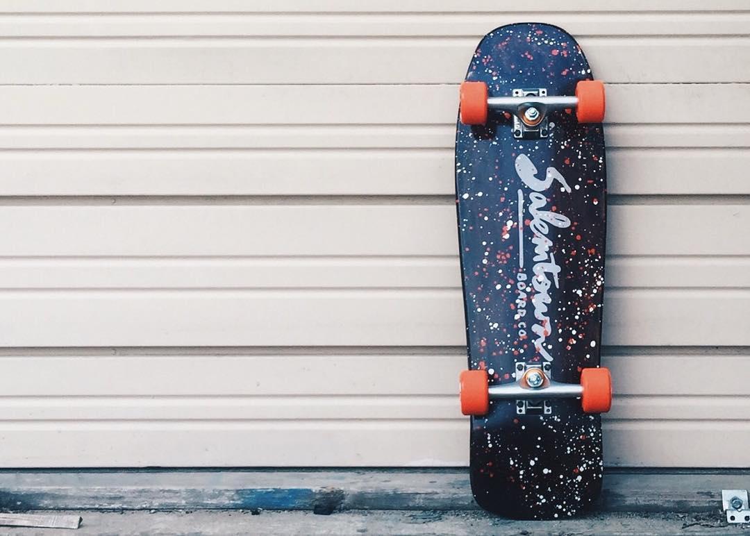 New Chipper goin up next week. Lovin this setup. #handmadeskateboard #skate #skateboarding #Nashville #cruiserboard #cruiser