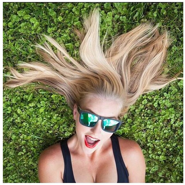 Looks like @outdoorbarbiedoll will #SEEHAPPY in a new pair of SPY shades with the #HappyLens!  Don't forget to show us how you #SEEHAPPY for your chance to win.