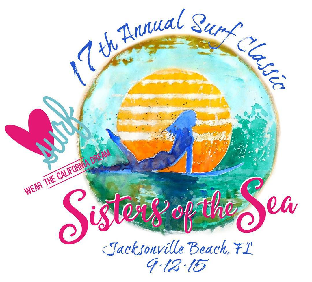 This time next week we'll be heading to Jax Beach, FL supporting the 17th annual Surf Classic with @sistersofthesea // we are #PUMPED #luvsurf #sistersofthesea #sos #yew #surf #competition there's still time to register @ www.sistersofthesea.org...