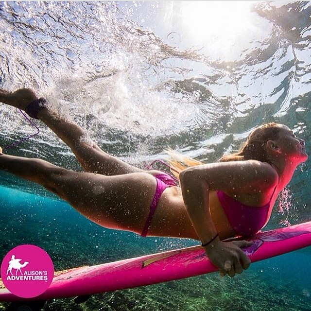 @alisonsadventures #loving her #pink #bikinis for this #amazing #valentines #weekend! Hope you all had some #amazing #adventures! #photo @marktipple #presidentsday #thankyougeorgewashington for our #freedom