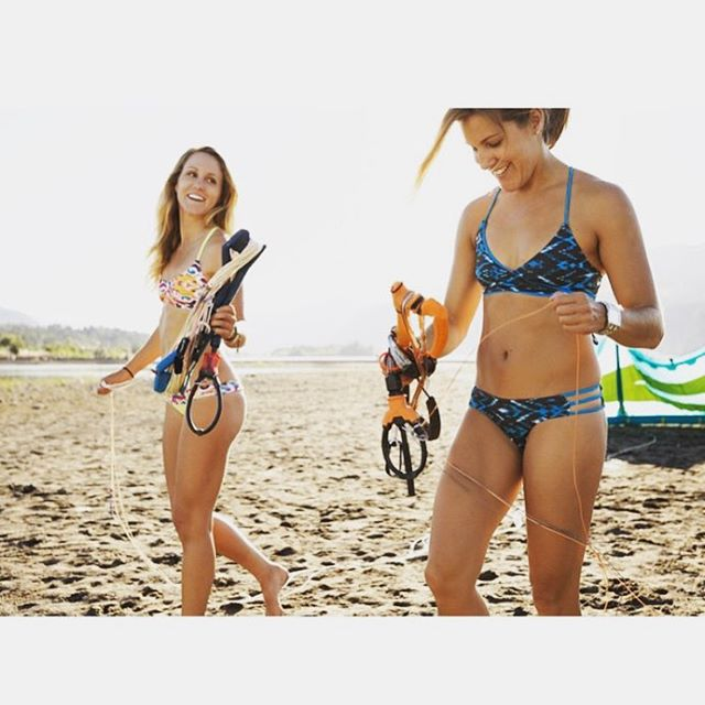 Weekend plans: getting out for fun with friends! #kiteboardgirls #bikinilife #friyay #jointheadventure #sensidawn #sensikyla