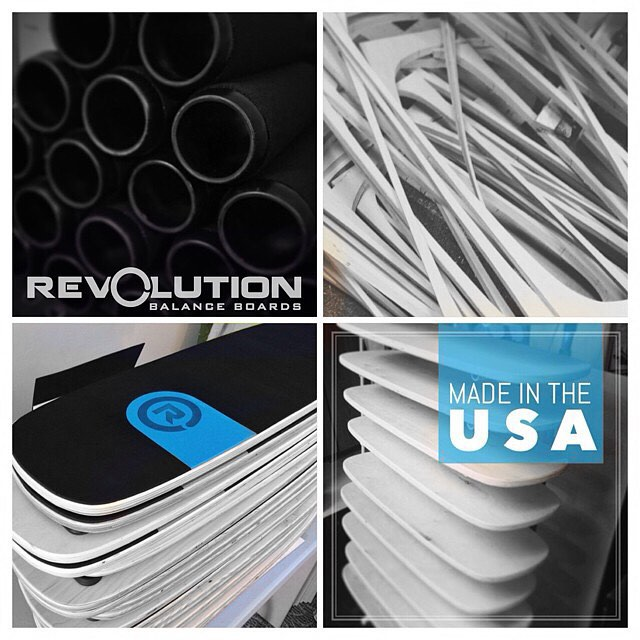 Our boards our proudly made in the USA. We take pride and time crafting each board so you have the ultimate balance experience.  #revbalance #findyourbalance #balanceboards #madeinusa #boardsports #yoga #crossfit #surfing #paddleboarding #skateboarding...