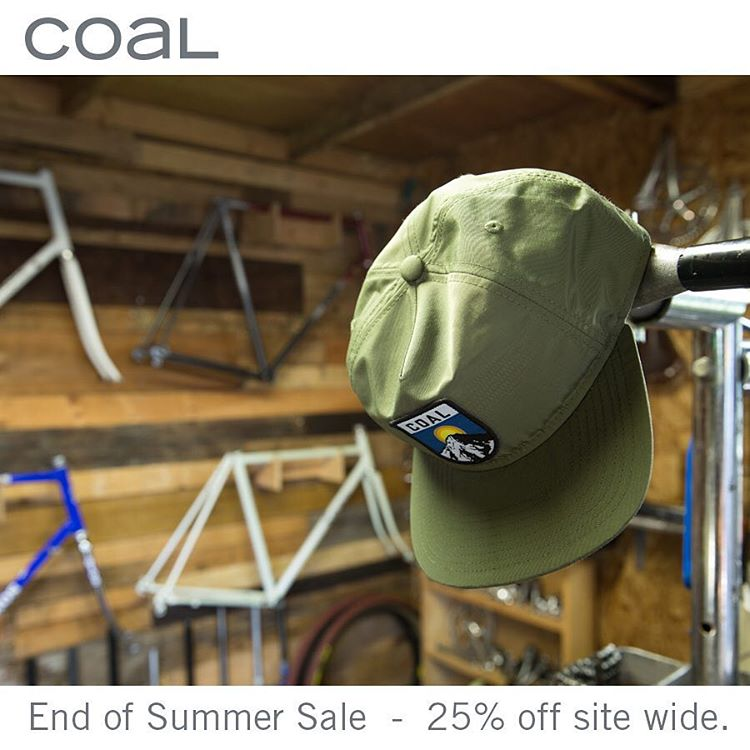 The 3 day weekend just started and so has our End of Summer Sale. Take advantage of 20% off through Monday. #coalheadwear